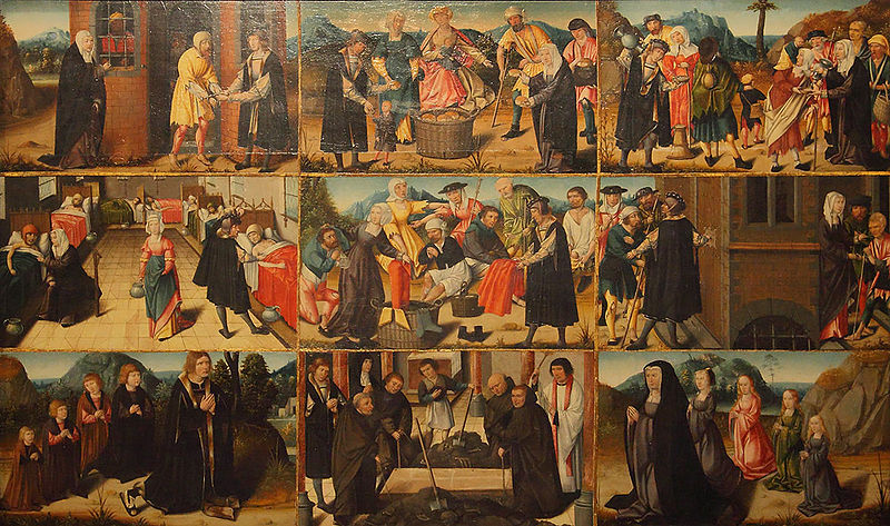 7 Works of Mercy (Meester van de Levensbron)