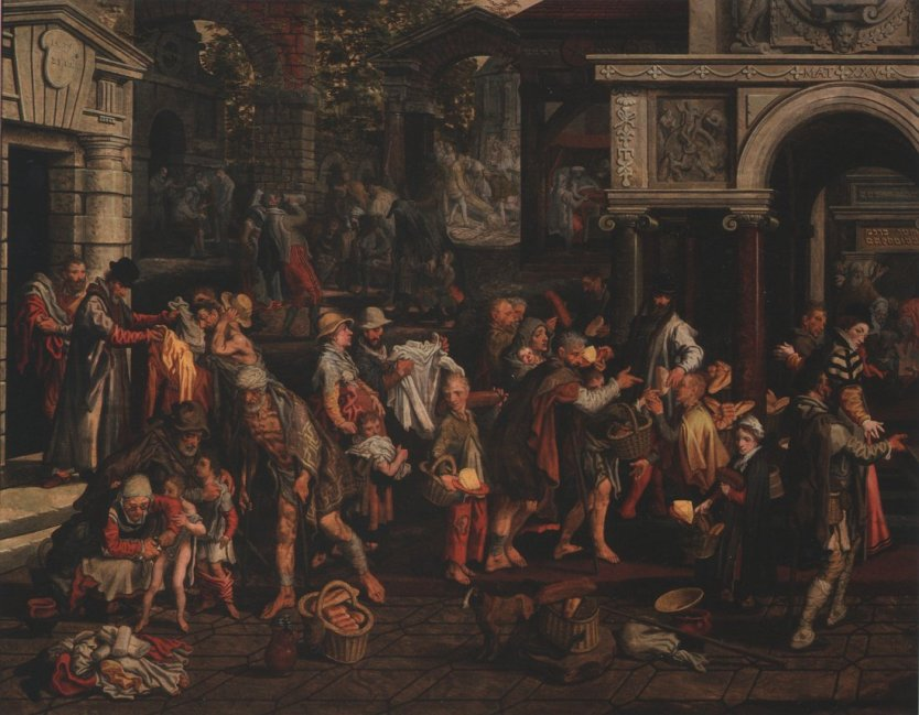 7 Works of Mercy (Pieter Aertsen)