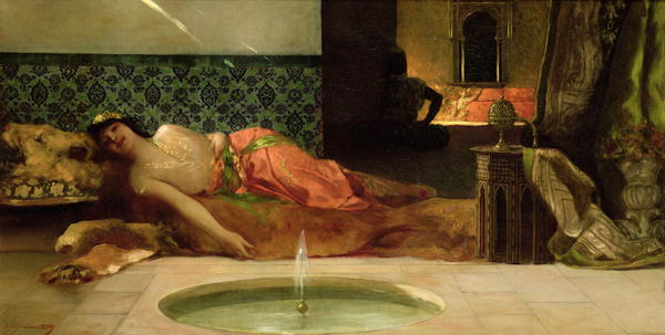 An Odalisque in a Harem, Wikimedia Commons