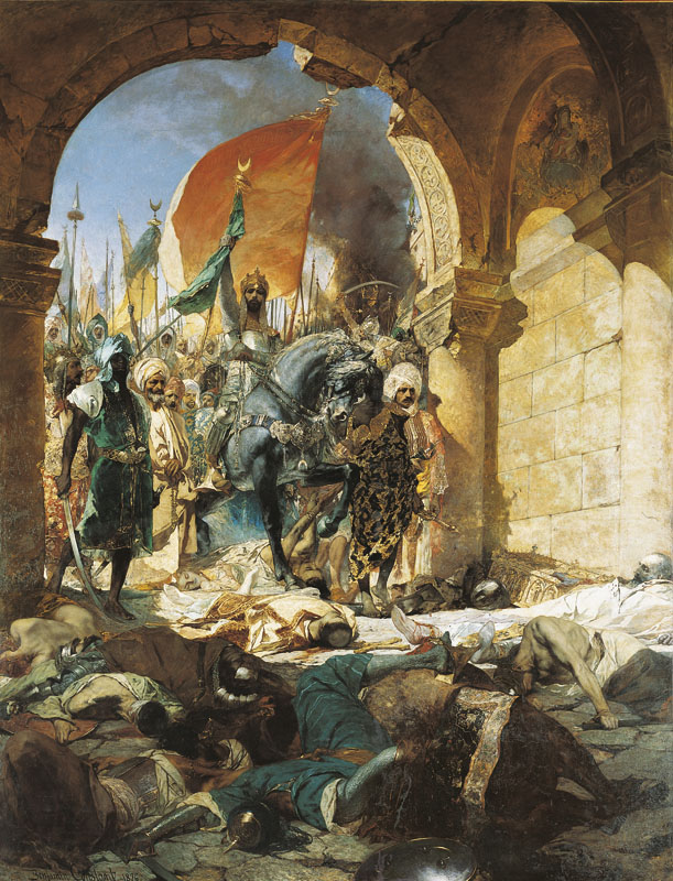 The Entry of Mahomet II into Constantinople, Wikimedia Commons