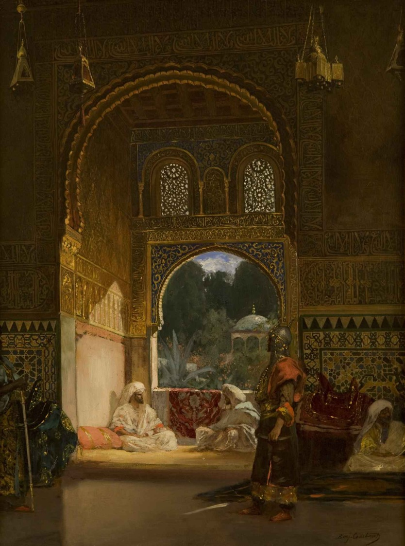 In the Sultan's Palace, Wikimedia Commons