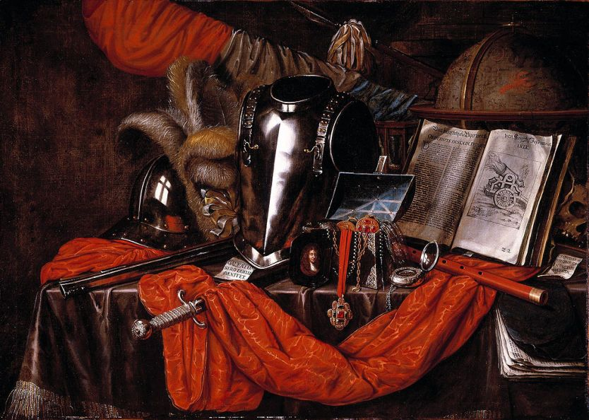 Vanitas by Edward Collier