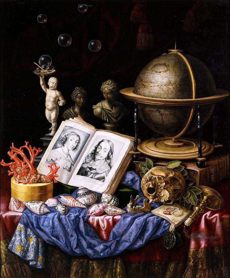 Vanitas by Carstian Luyckx, Wikipedia