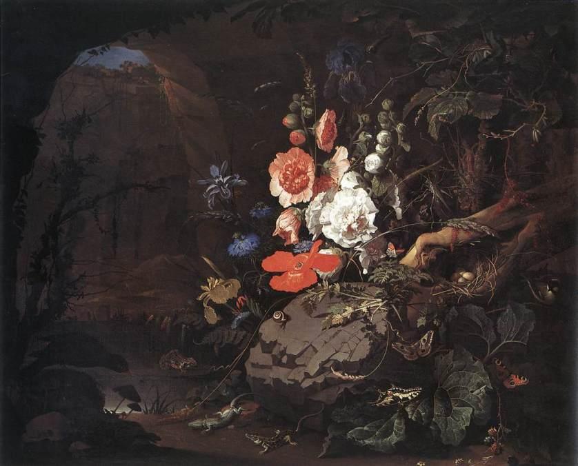 Vanitas by Abraham Mignon, Wikipedia