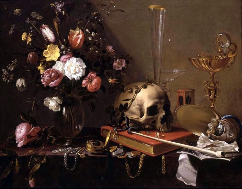 Vanitas by Adriaen van Utrecht, Wikipedia