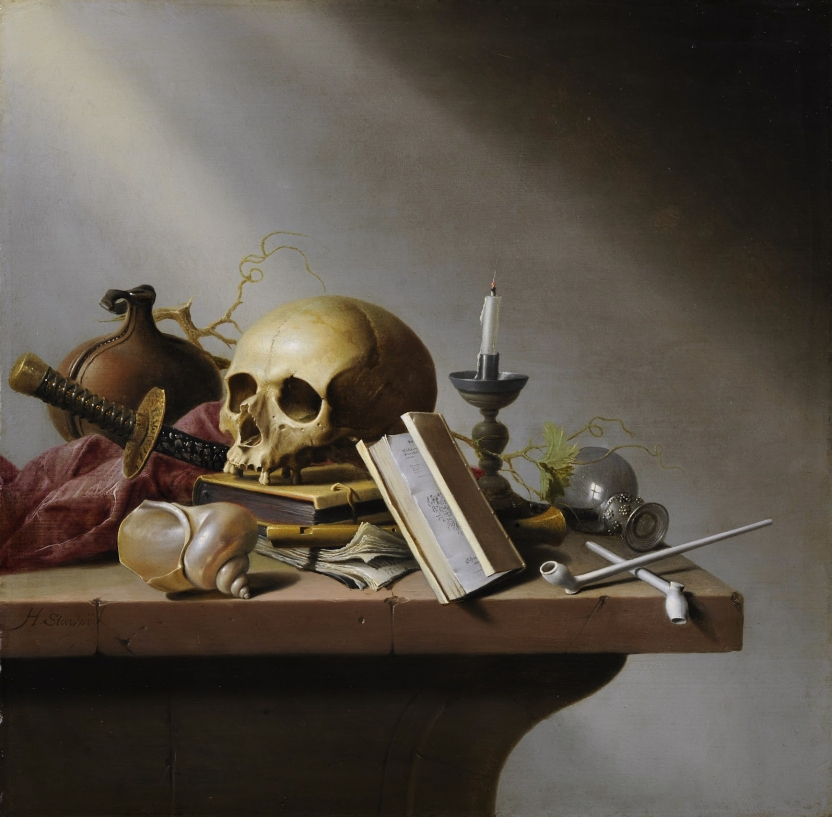 Vanitas by Harmen Steenwijck, Wikipedia