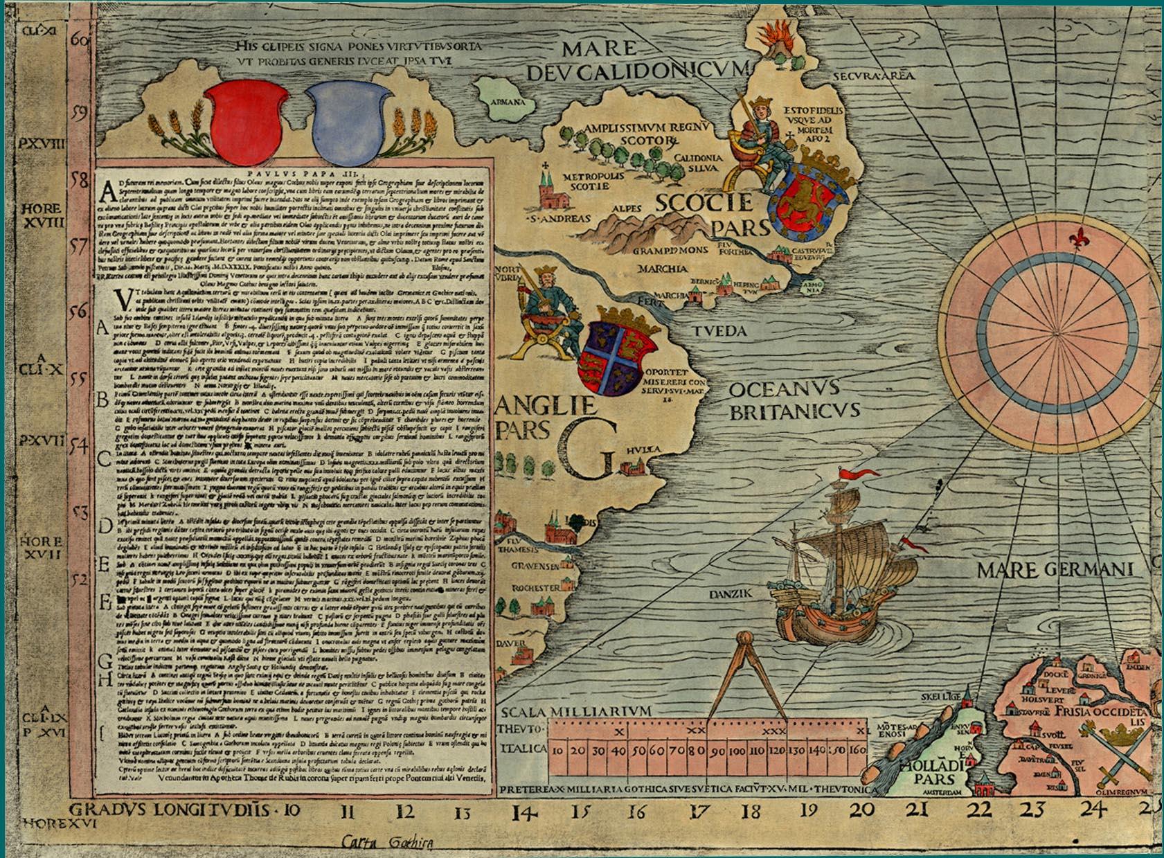 carta marina on art and aesthetics carta marina