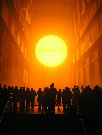weather project Commissioned for the unilever series in the turbine hall at tate modern in london, the weather project 2003 is probably the most popular installation made by eliasson for a museum to date.