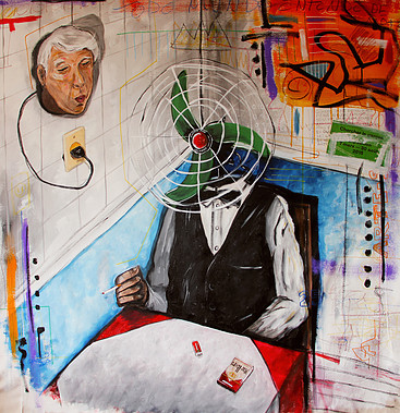 O descanço do garçon (Head) by Gabriel Grecco. Used with permission.