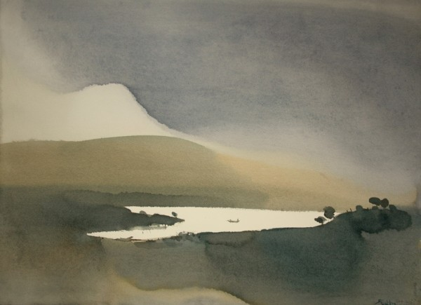 Monsoon in Gray and Ochres by Prashant Prabhu. Used with permission.
