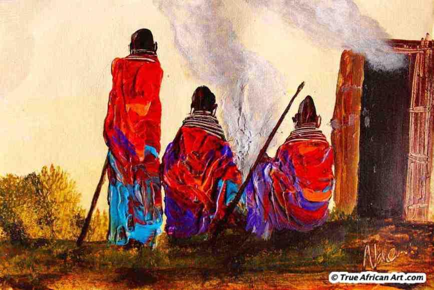 N 111 by John Ndambo (Kenya)