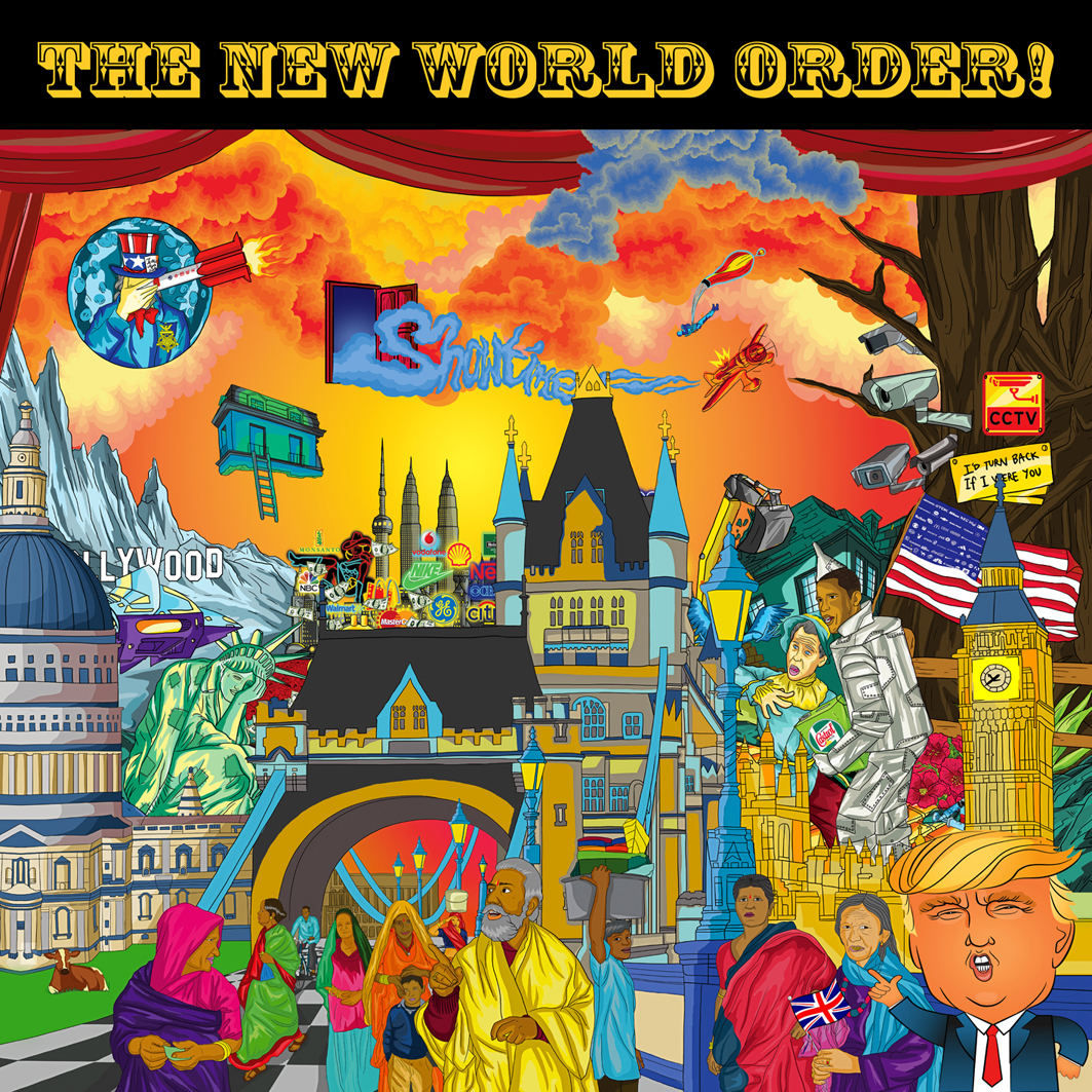 """From """"the New World Order"""" to """"Horn Please"""": The Wild and"""