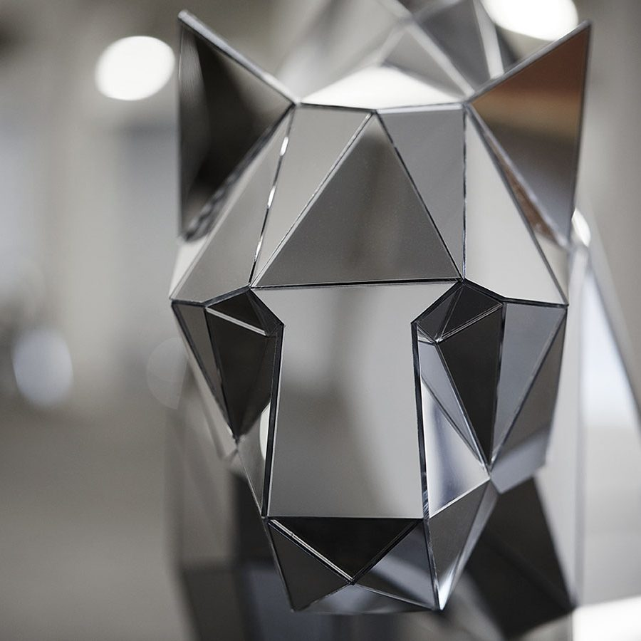 1a0f68f6a The Primitive Psyche in the Digital Age: The Geometric Sculptures of ...