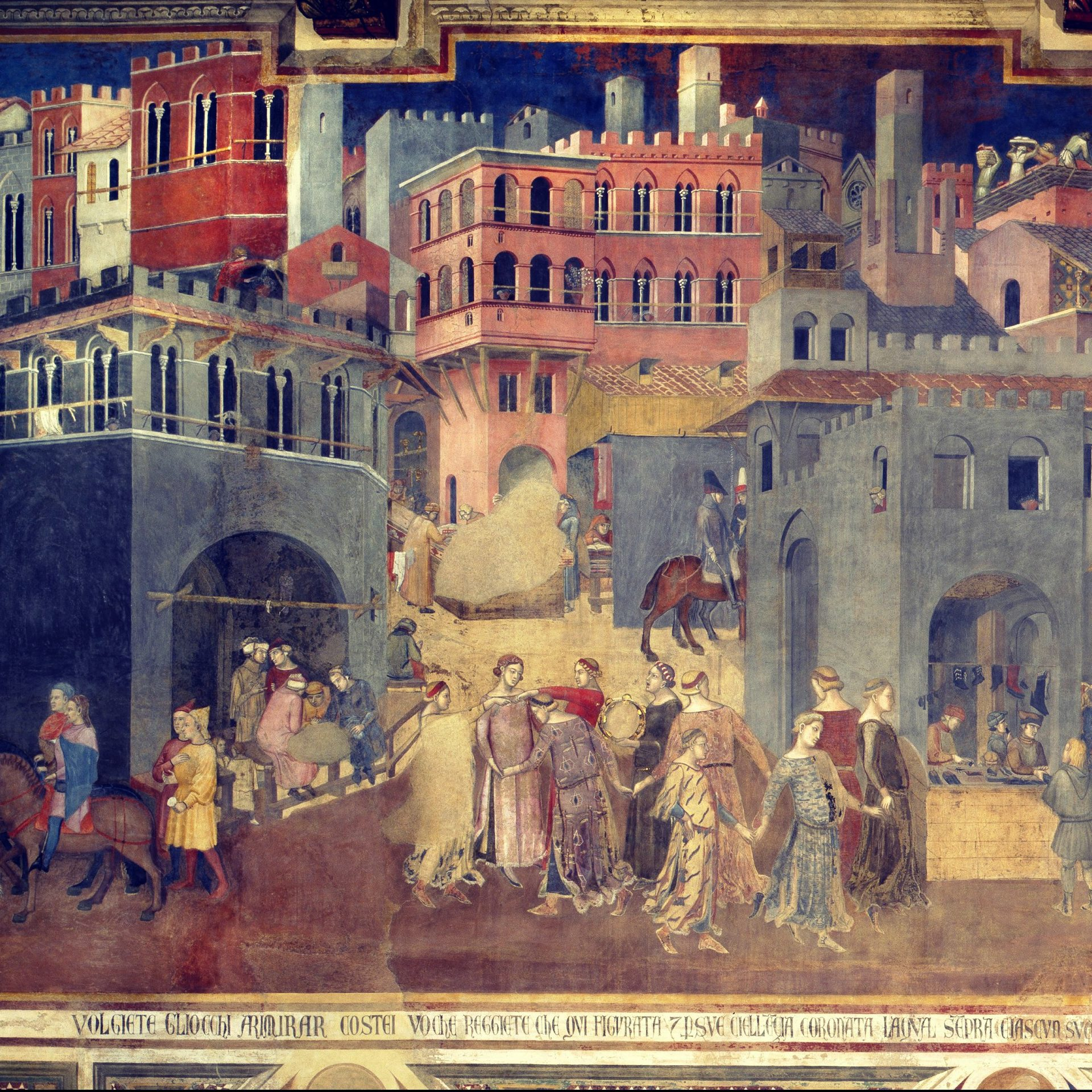 Good and Bad Governments: An Allegory by Ambrogio Lorenzetti (1338-39)