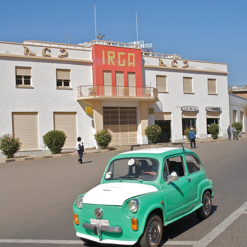 """Dante Cinema"", ""Villa Venezia"": The Frozen City of Asmara by Jean Robert"