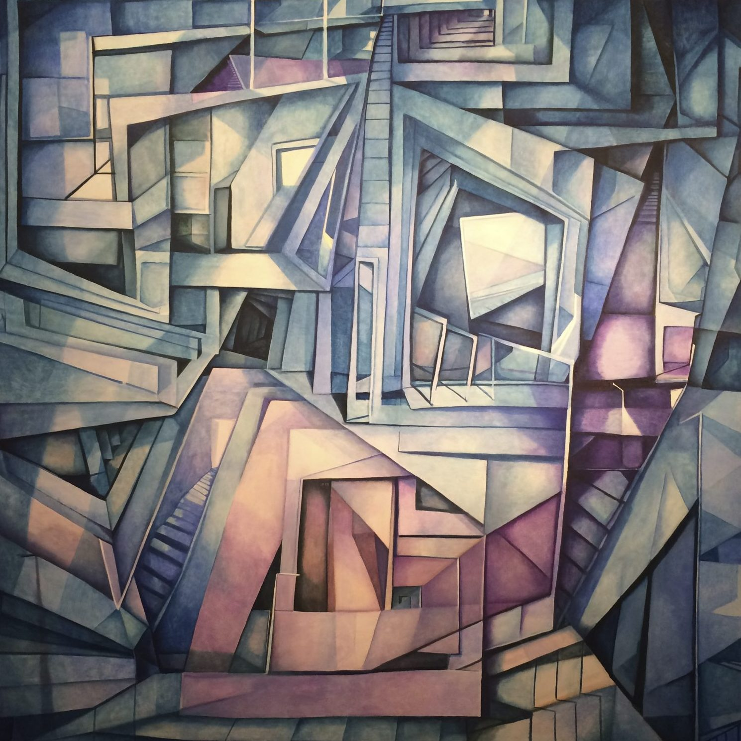 Distorted Spaces, Misleading Lines: The Amazing Geometric Surrealism of JT Thompson