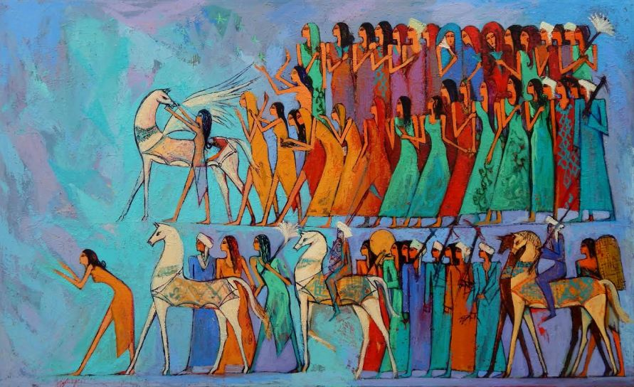 Egyptian Painting Artist