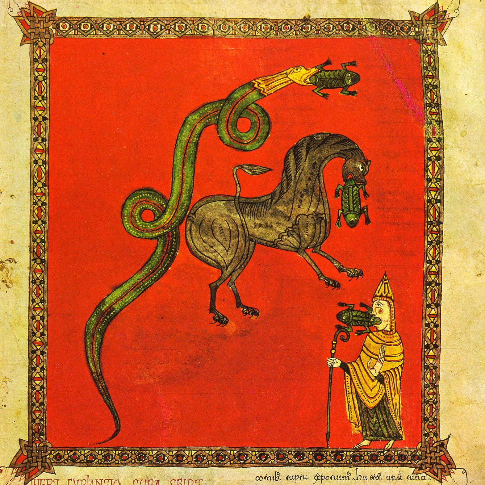 Commentary on the Apocalypse by Beatus of Liébana (730–785): An Example of the Mozarabic Style