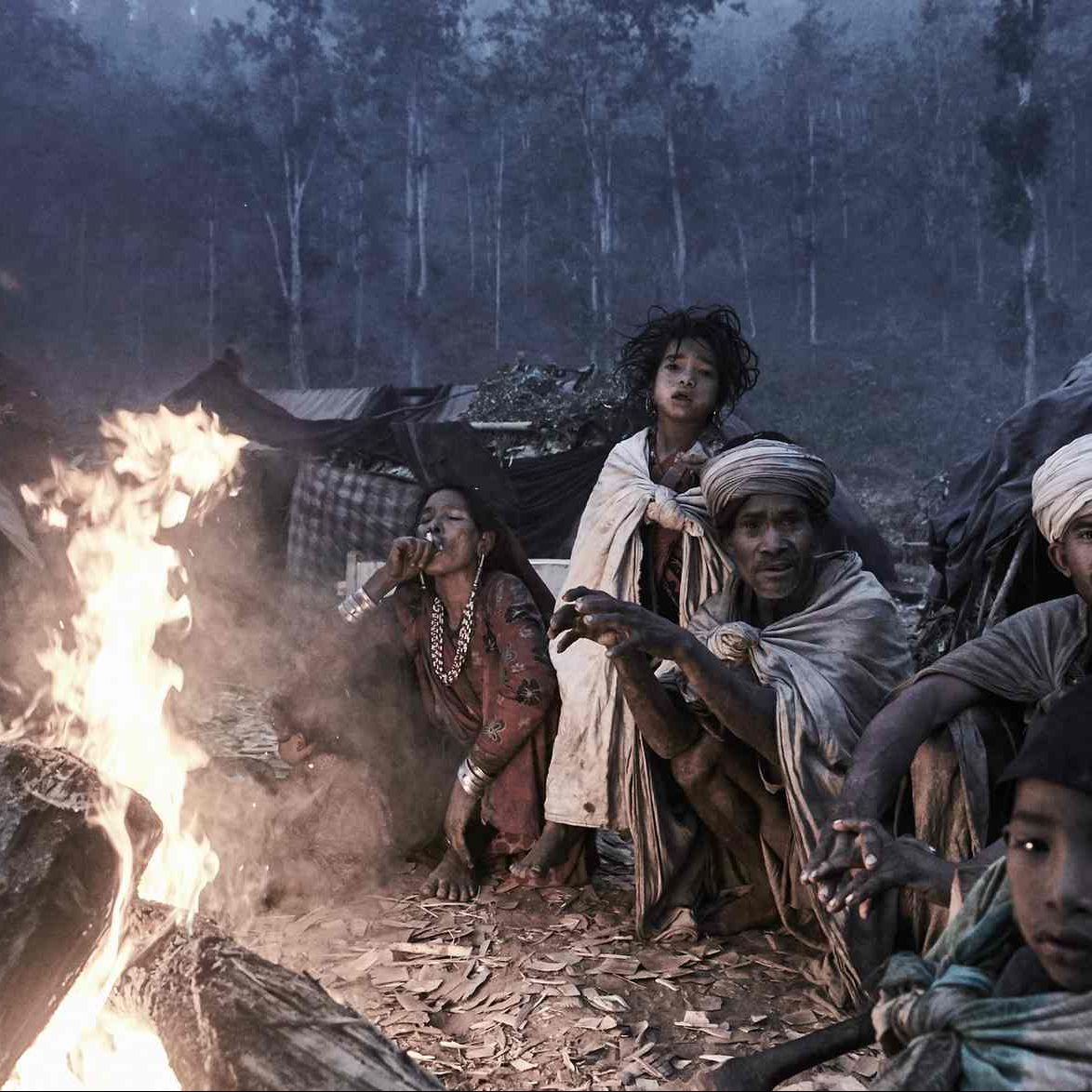"The Last Nomadic Hunter-Gatherers of the Himalayas: Jan Møller Hansen Captures ""the Rautes"""