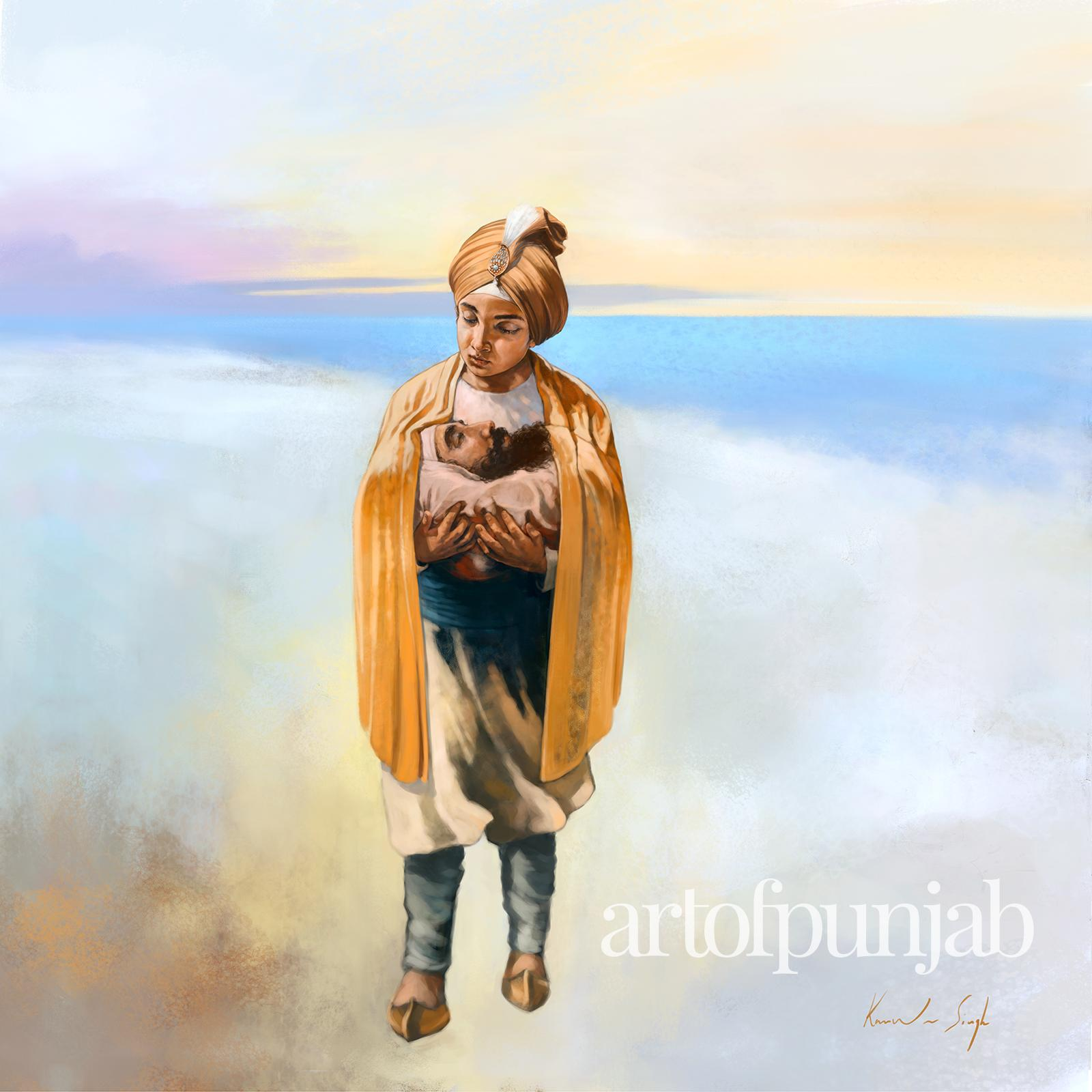"""Art of Punjab"": Sikh History and Spirituality by Canadian Painter Kanwar Singh"